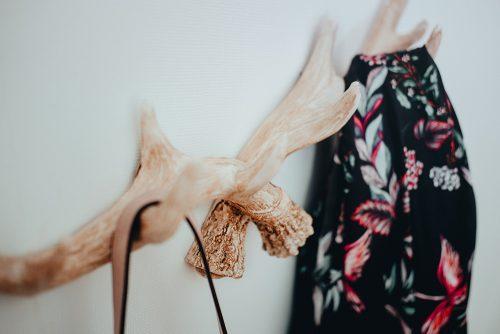 Hansmeier kleiderhaken geweih Vintage garderobe Wanddeko Garderobenhaken 3