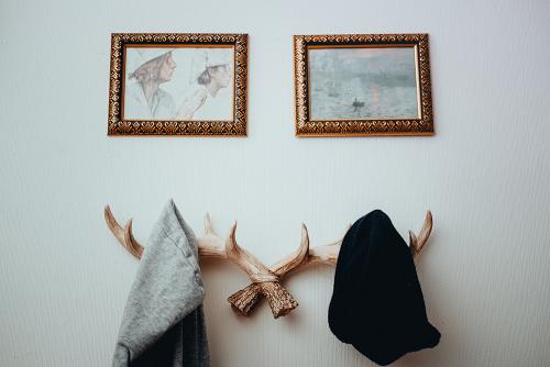Hansmeier kleiderhaken geweih vintage garderobe Wanddeko Garderobenhaken 2