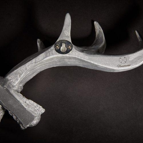 Hansmeier Geweih-Wandgarderobe Silber 2