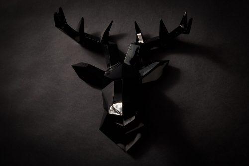 Hirsch Wandkskulptur
