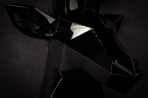 Hirsch Wandkskulptur 2