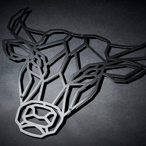 Metalldeko Wand 4