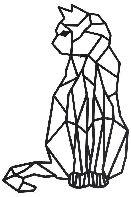 Katze Wanddeko 5