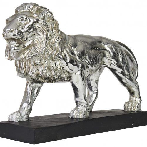 Löwe Silber 4