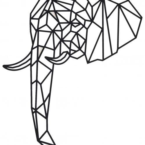 Industrial Deko Elefant 5