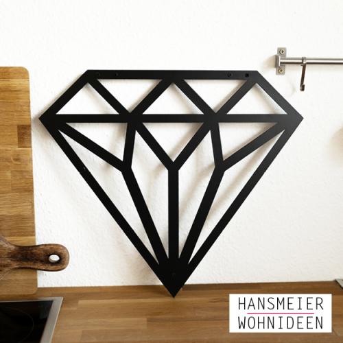 Wanddeko Diamant 11