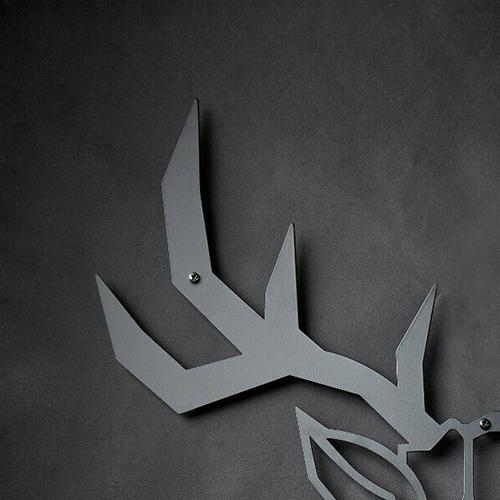 Metalldeko Hirsch Bild 03